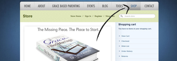 Online Shopping, Family Matters, Grace Based Parenting, Resource of the Month, Dr. Tim Kimmel